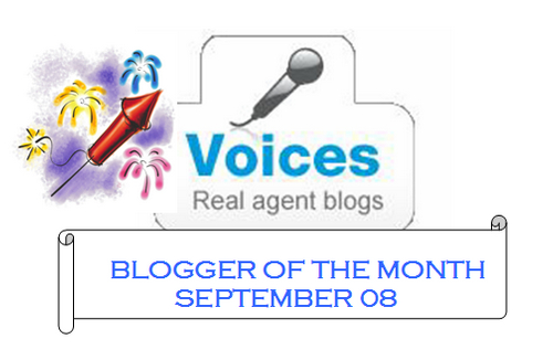 Blogger Of The Month!