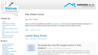 Voices - free blog platform for agents